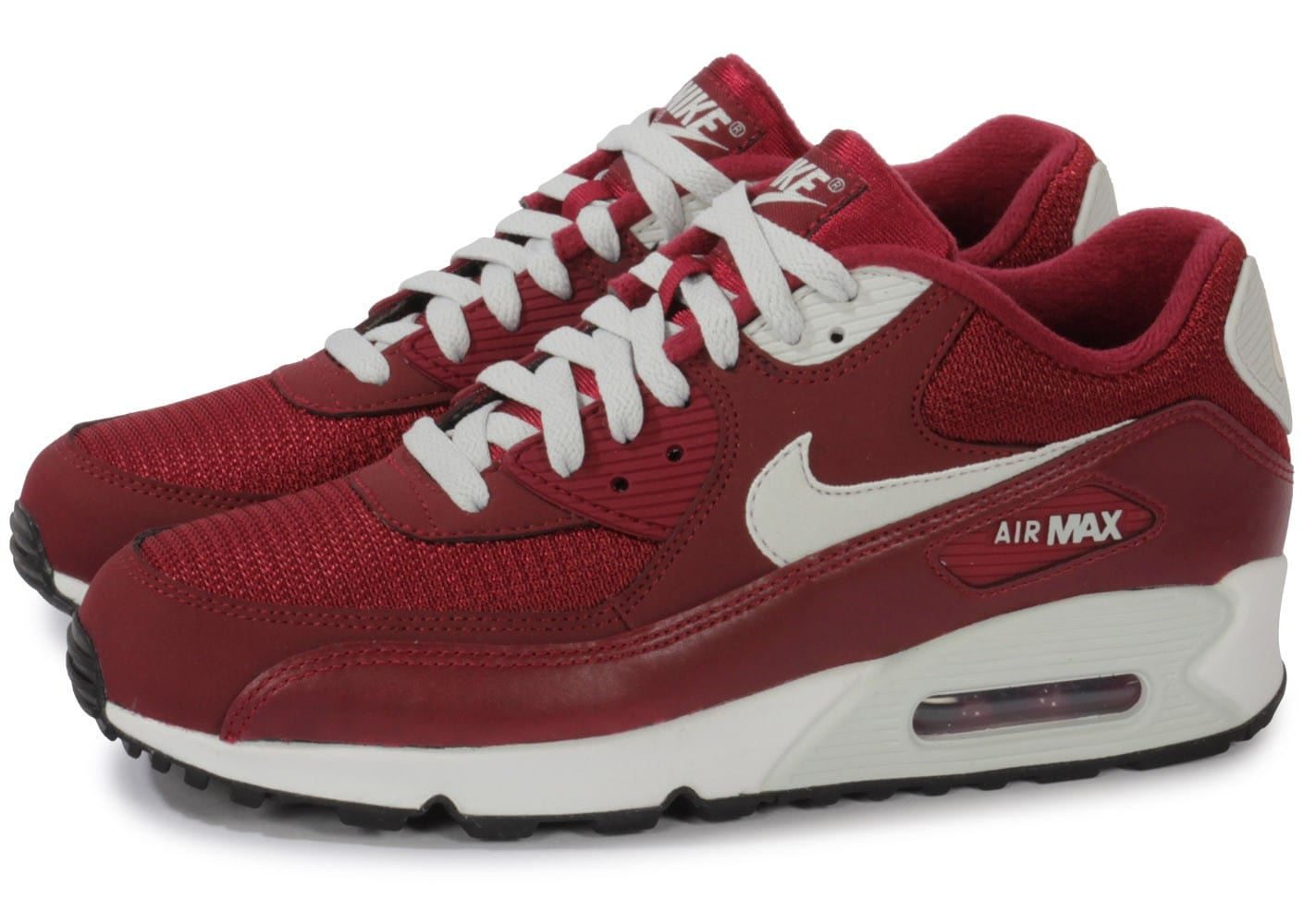nike air max 90 lea bordeaux