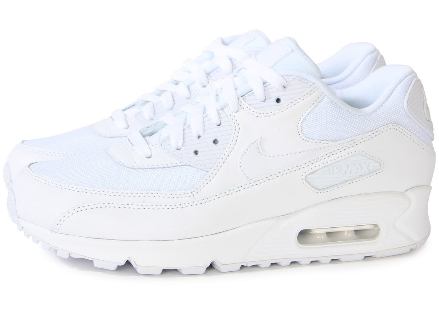 Nike Air Max 90 Essential Blanche - Chaussures Baskets homme ...