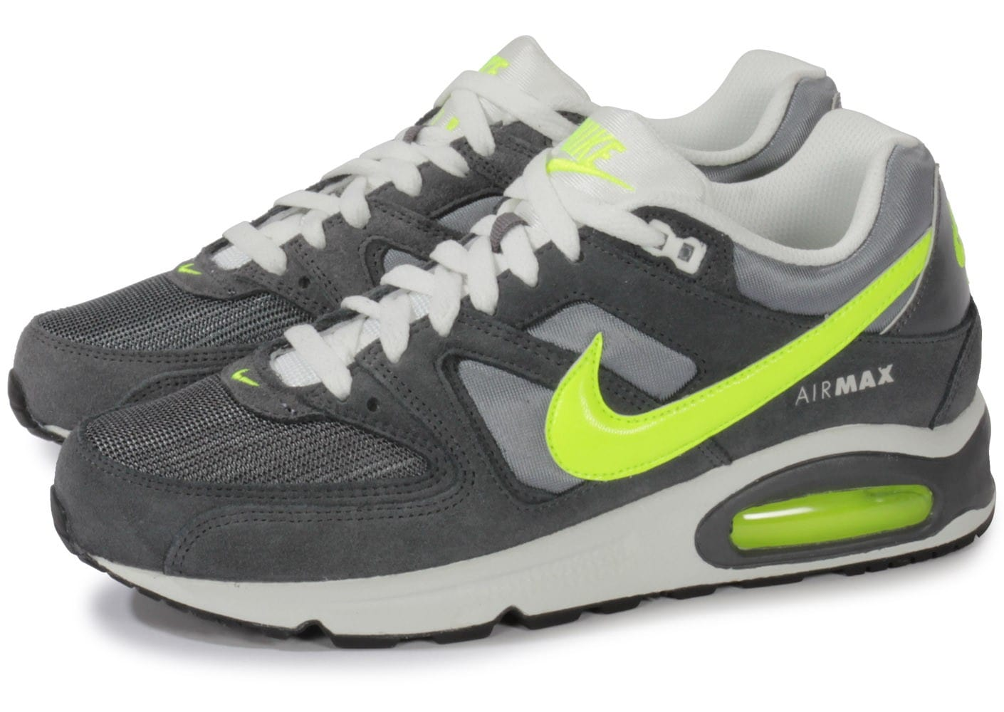 acheter populaire 94761 23163 Nike Air Max Command Grise - Chaussures Baskets homme ...