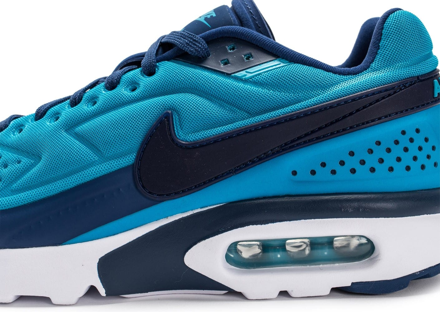 low priced 76866 4d62f ... free shipping chaussures nike air max bw ultra bleu vue dessus 56578  4de2d