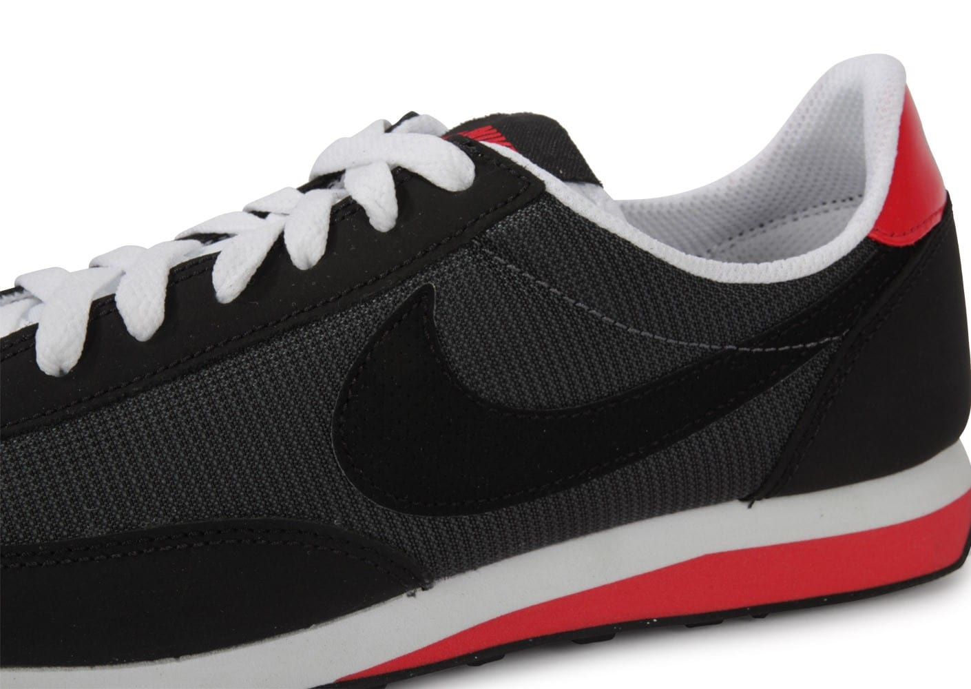 free shipping 1ae4a f57c4 ... Chaussures Nike Elite Si Noir Rouge vue dessus