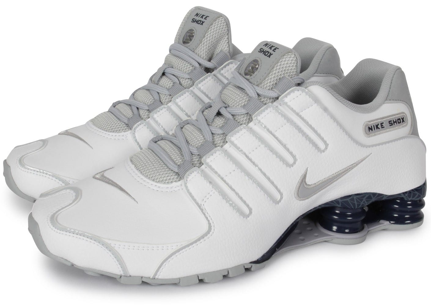 Nz Blanche Nike Homme Chaussures Chausport Baskets Shox dECoWQrxBe
