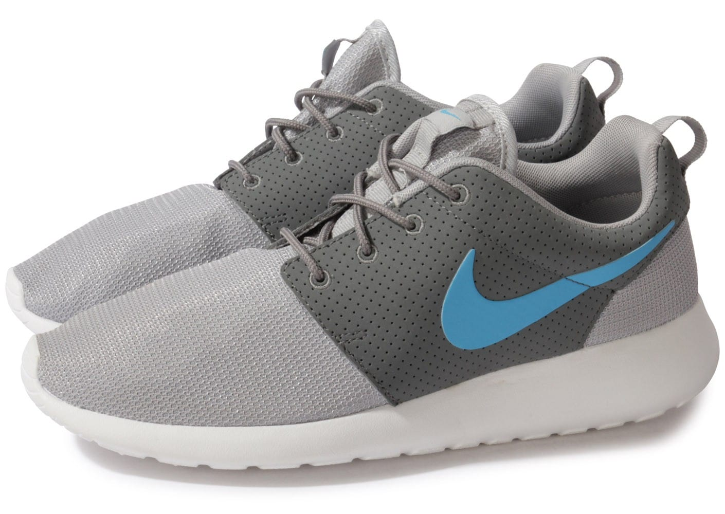 newest c30e8 e4df4 Roshe Chausport homme Nike Baskets Grise Chaussures Run gdfwFqS