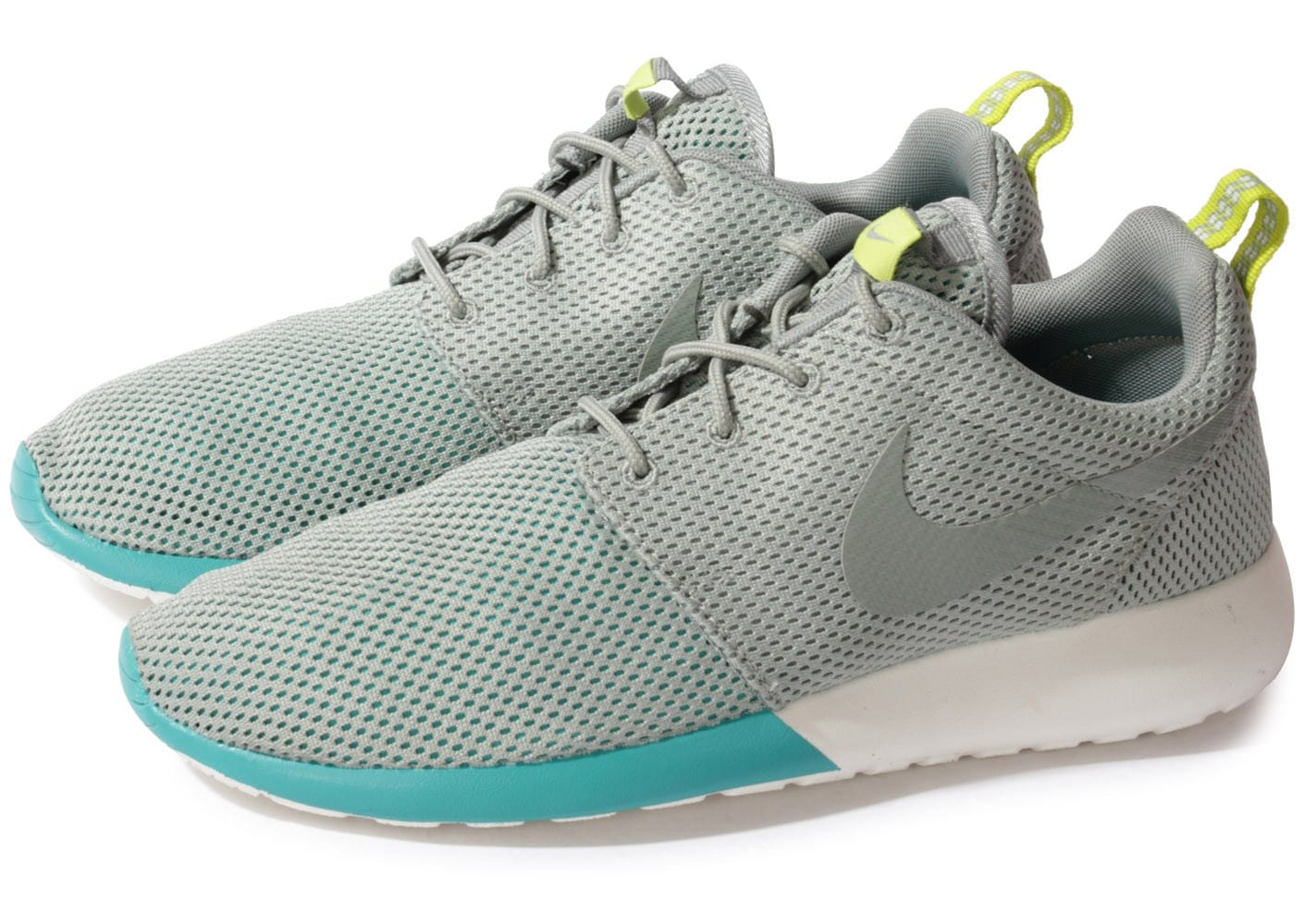 Nike Roshe Run Print Grise Chaussures Baskets homme