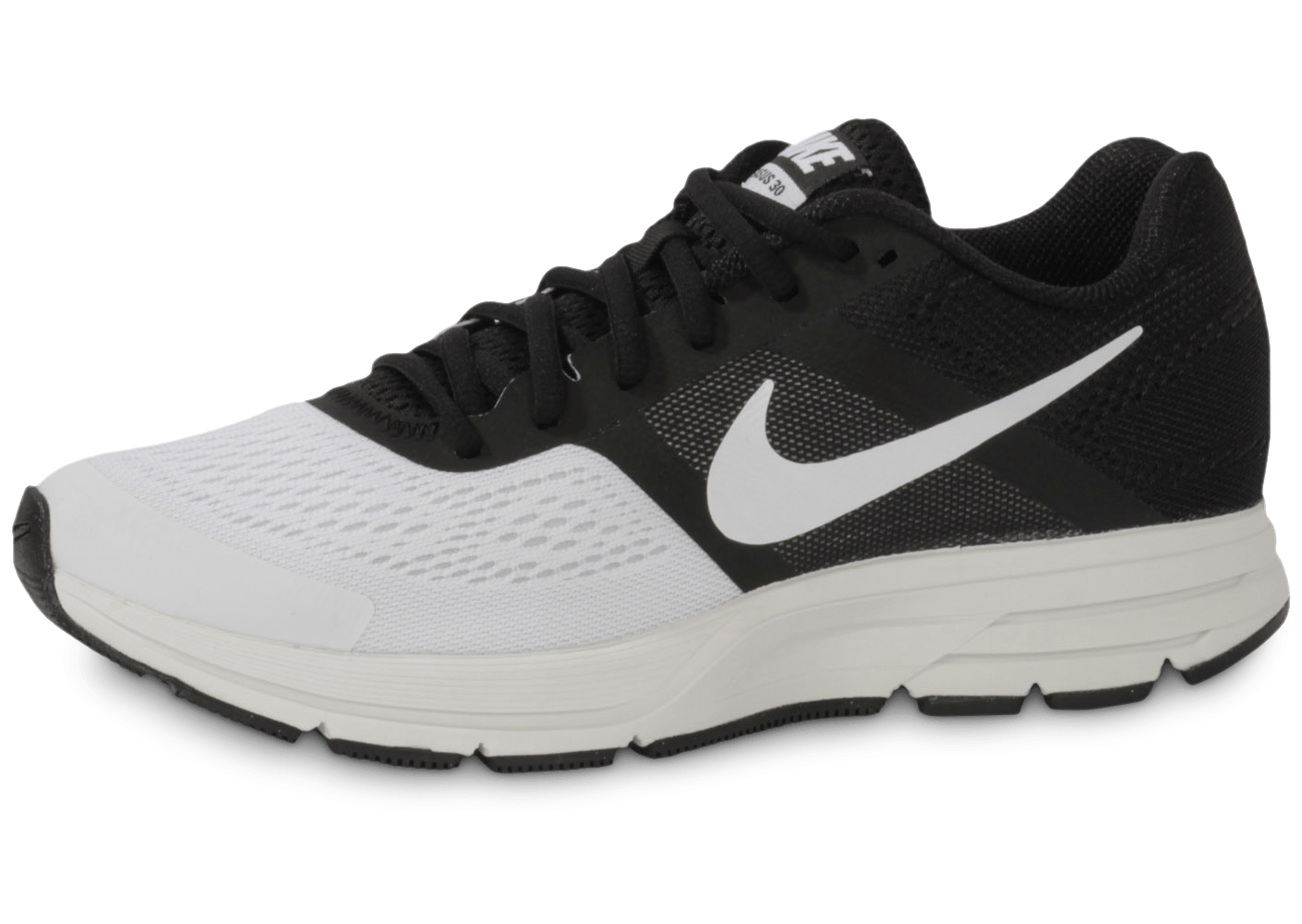 low priced a800f d7c27 Nike Pegasus+ 30 Noir Blanc - Chaussures Baskets homme - Chausport