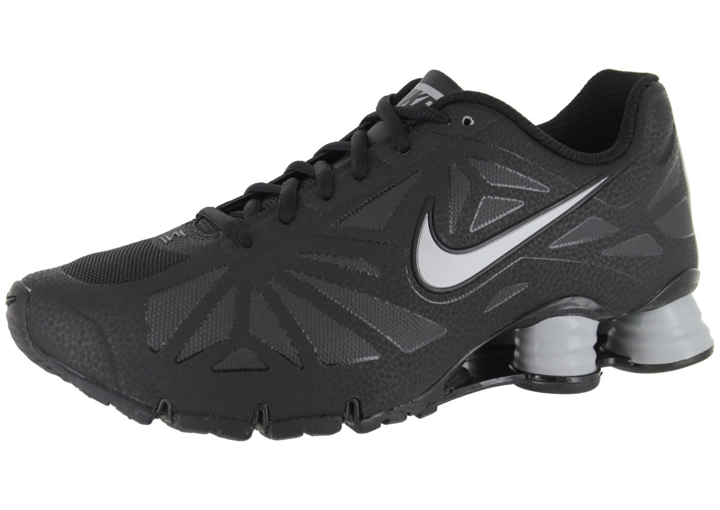 Nike Shox Turbo 14 Noire Chaussures Baskets homme Chausport