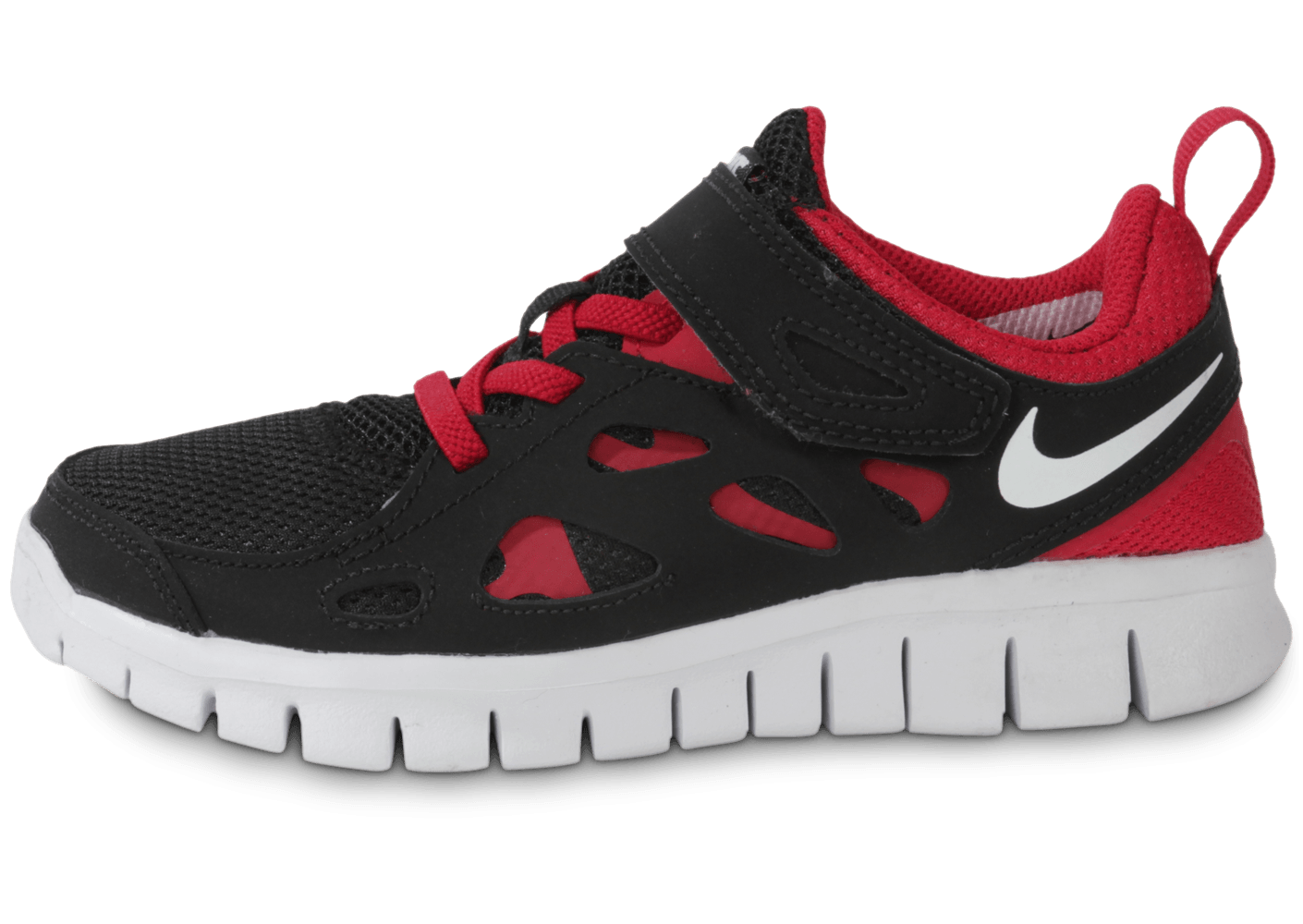 really cheap best supplier most popular Nike Free Run Enfant Noire Rouge - Chaussures Chaussures - Chausport