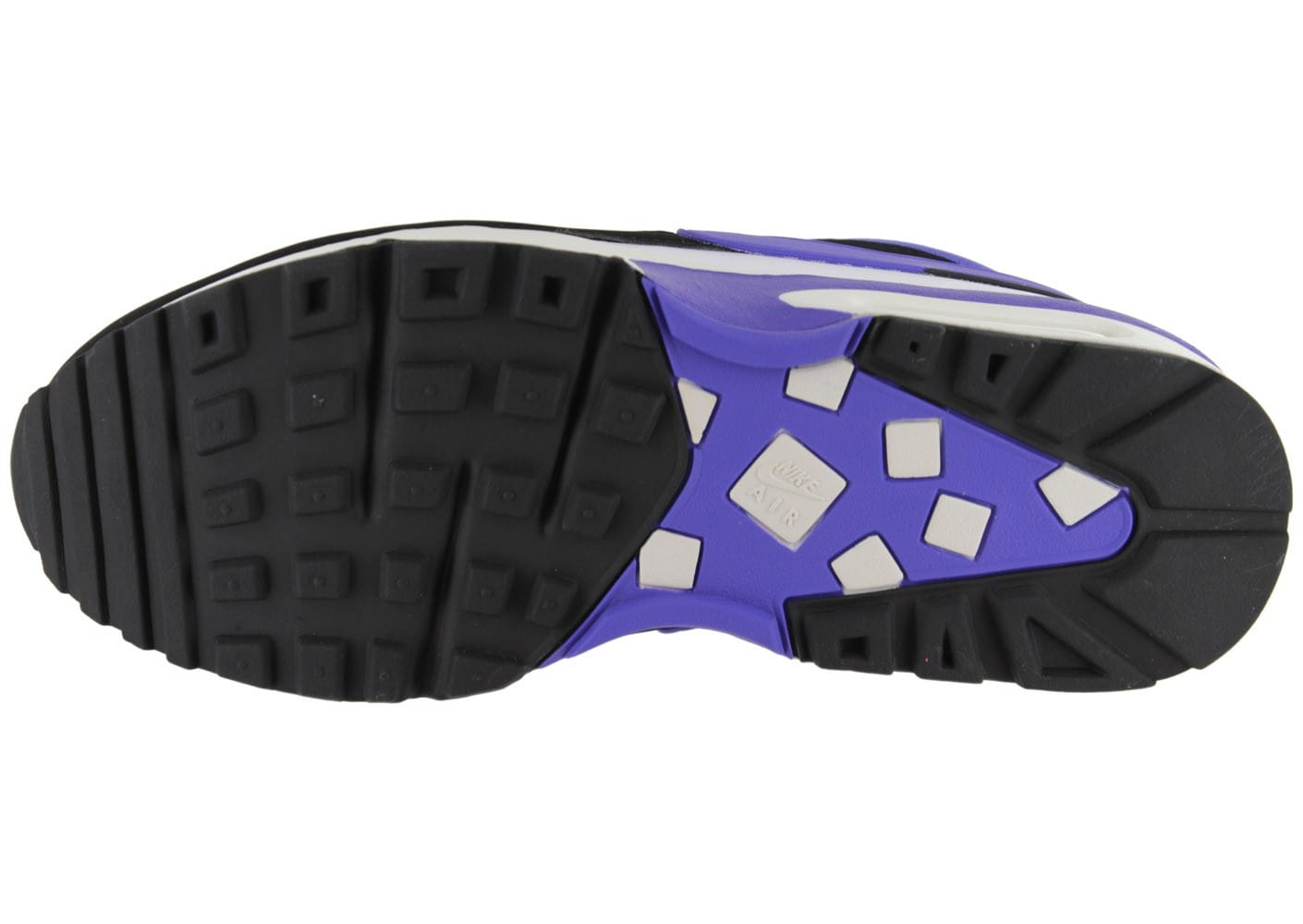 best website 4929f 0e43c ... Chaussures Nike Air Max Bw Classic Persian Violet vue dessous ...