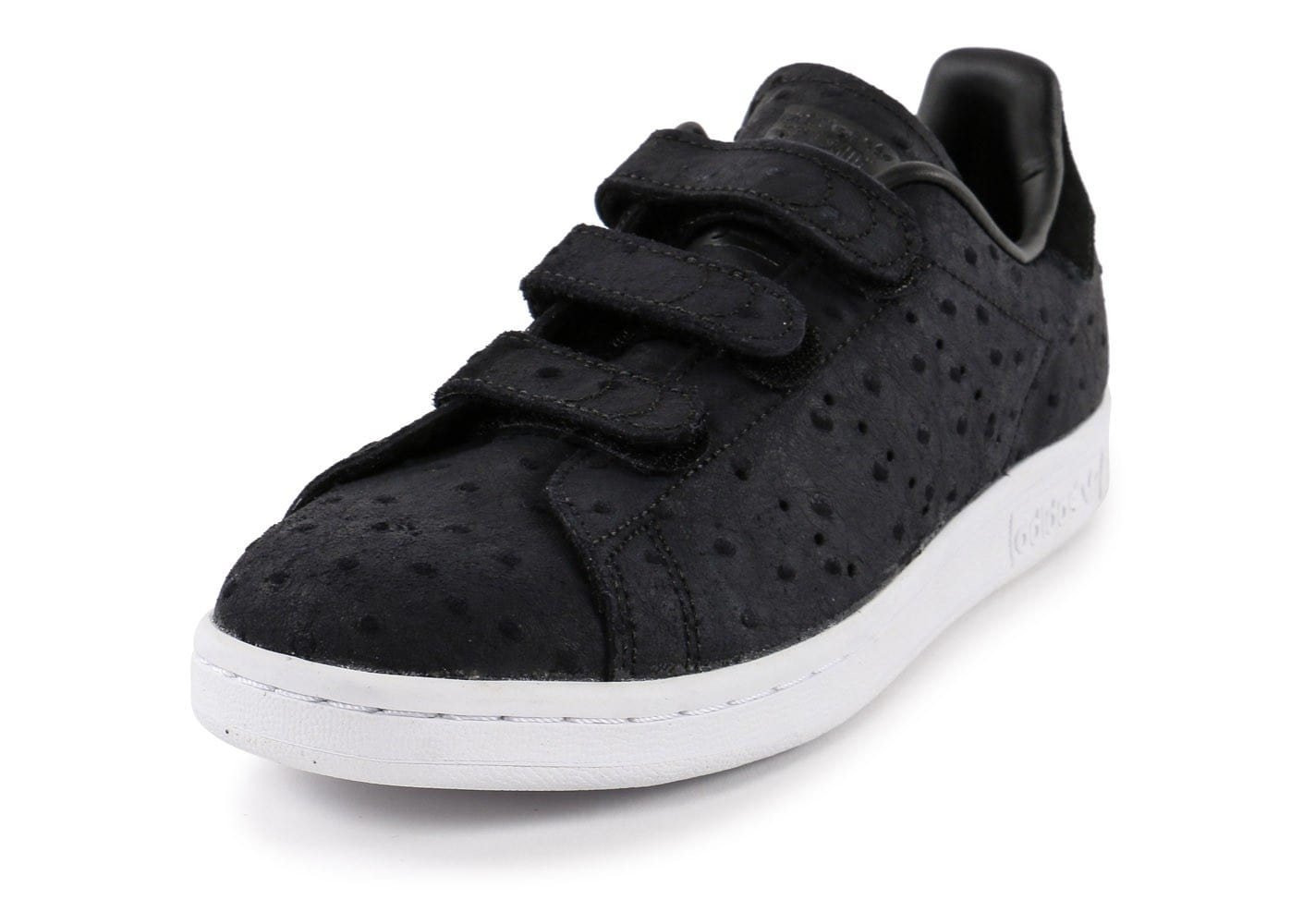 info pour 10670 a3782 adidas Stan Smith Cf Velcro noire - Chaussures adidas ...