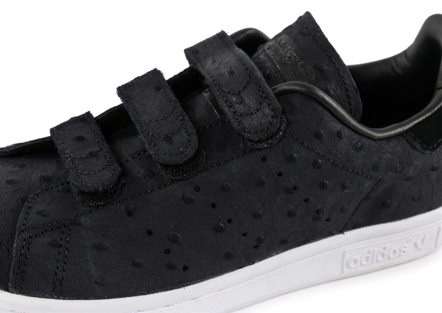 adidas Stan Smith Cf Velcro noire - Chaussures adidas ...