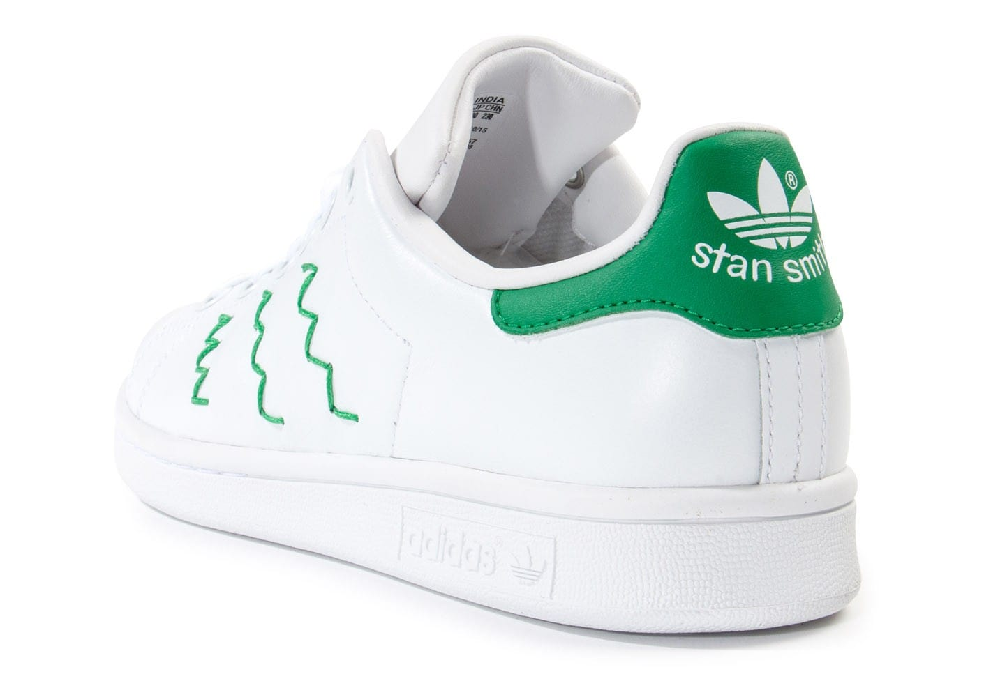 stan smith zig zag bleu