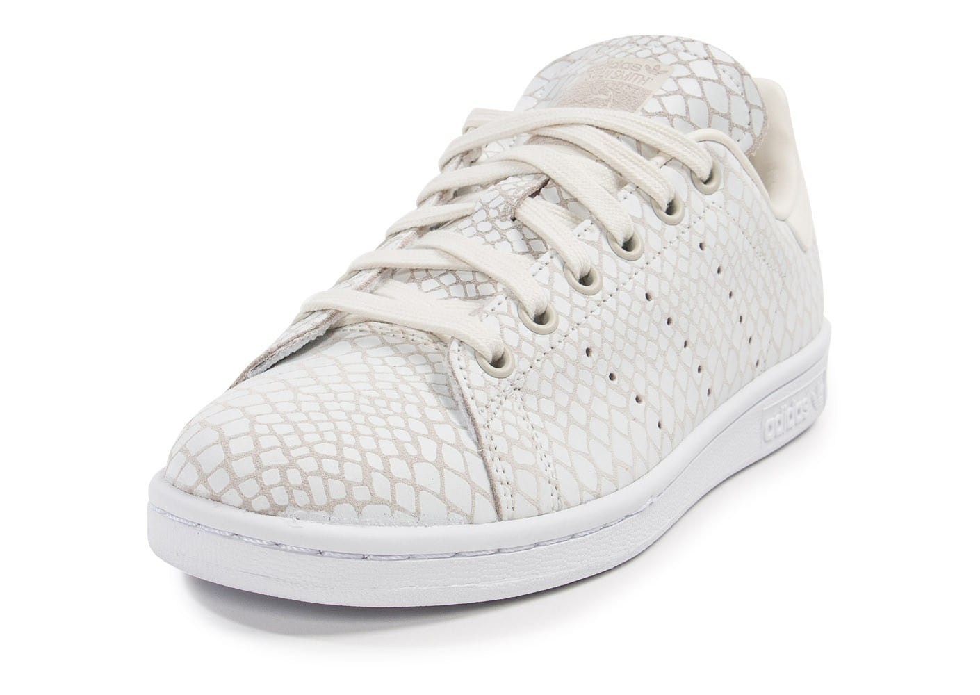 ... Chaussures adidas Stan Smith Snake blanche vue avant ...