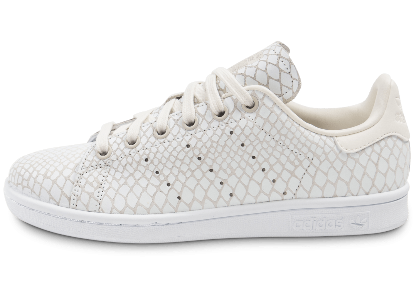 adidas Stan Smith Snake blanche