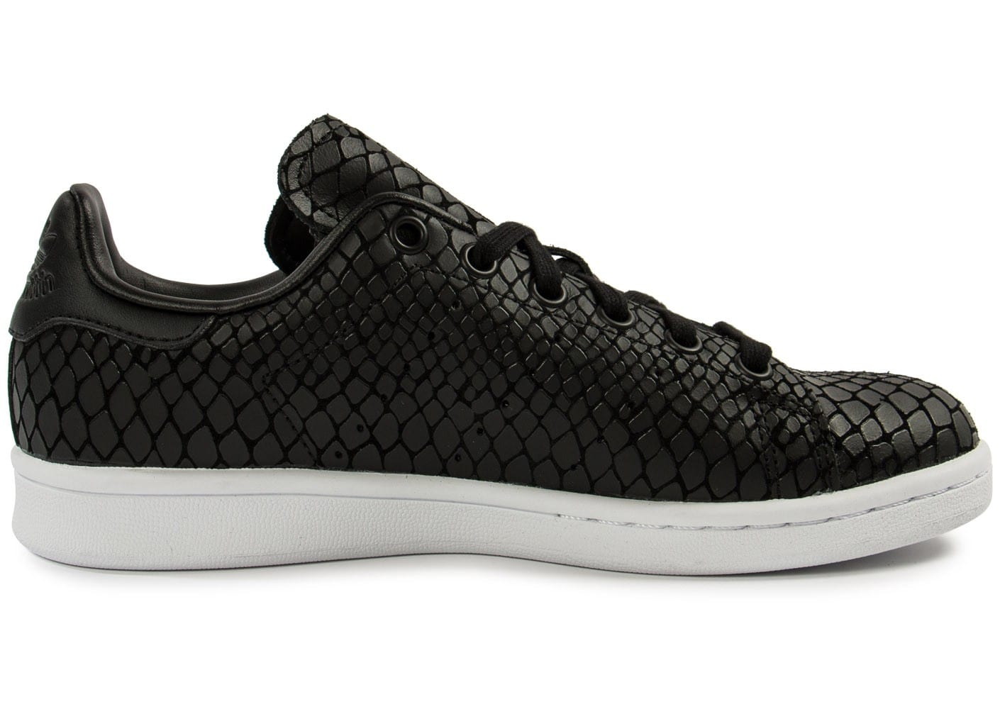 adidas stan smith snake noire chaussures adidas chausport. Black Bedroom Furniture Sets. Home Design Ideas