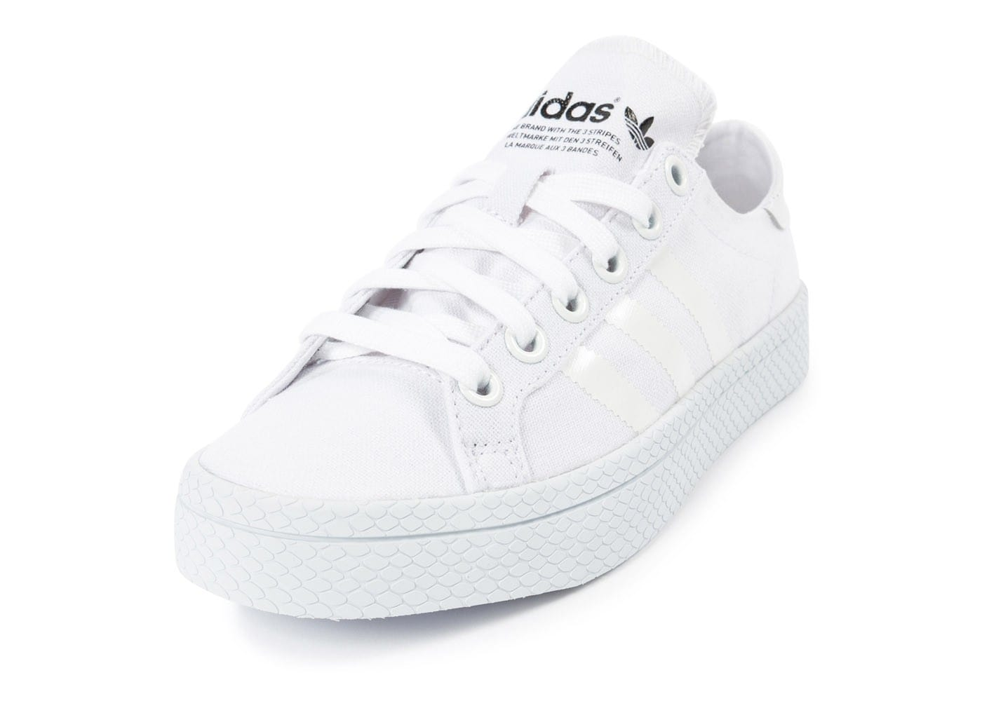 Adidas Chaussures Vantage Blanche Court Chausport odCBrxe