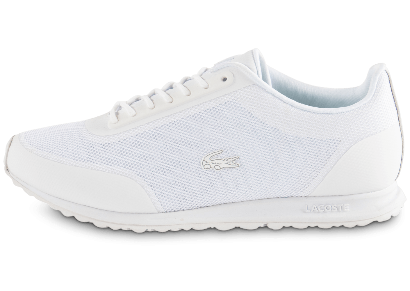 Runner femme Baskets Helaine Chausport blanche Chaussures Lacoste Swaqf5