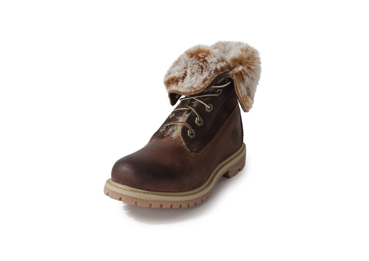 23fe04102b2f9 Fourrée Timberland Boot Authentics Chaussures Marron S8w0Eqw