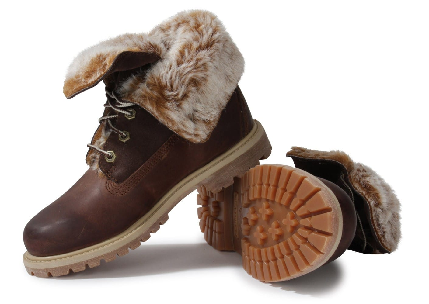 Timberland Marron Boot Fourrée Chaussures Authentics 6w4gqxd