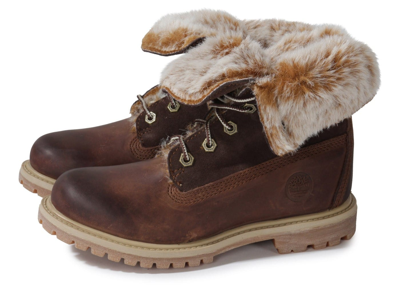 Timberland Boot Authentics Fourrée marron Chaussures