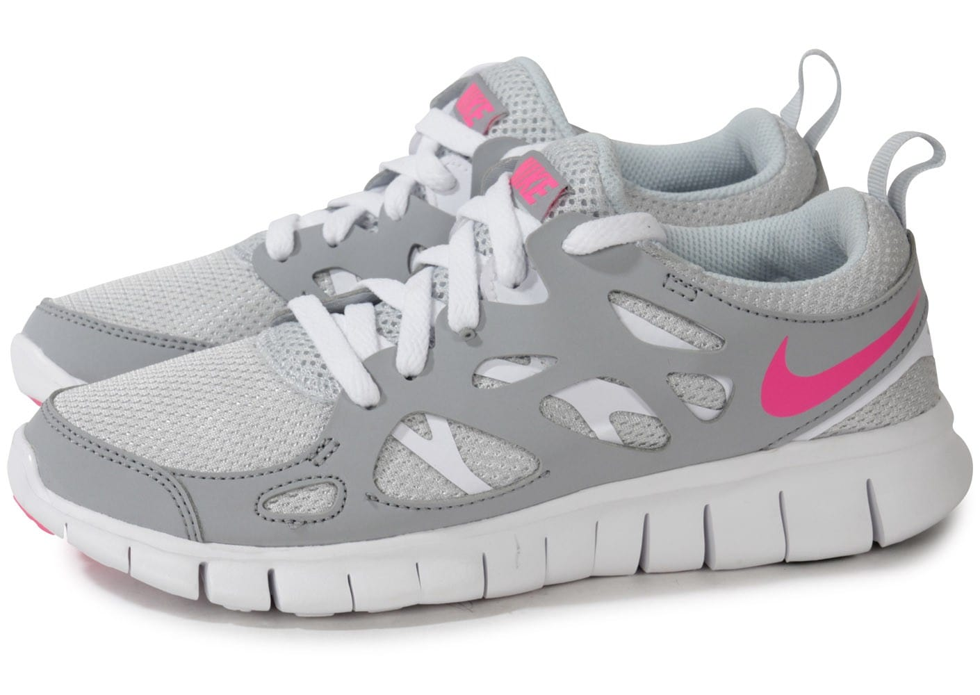 Nike Free Run 2 Chaussures Junior Grise Et Rose Chaussures Chaussures 2 Chausport fec1b7