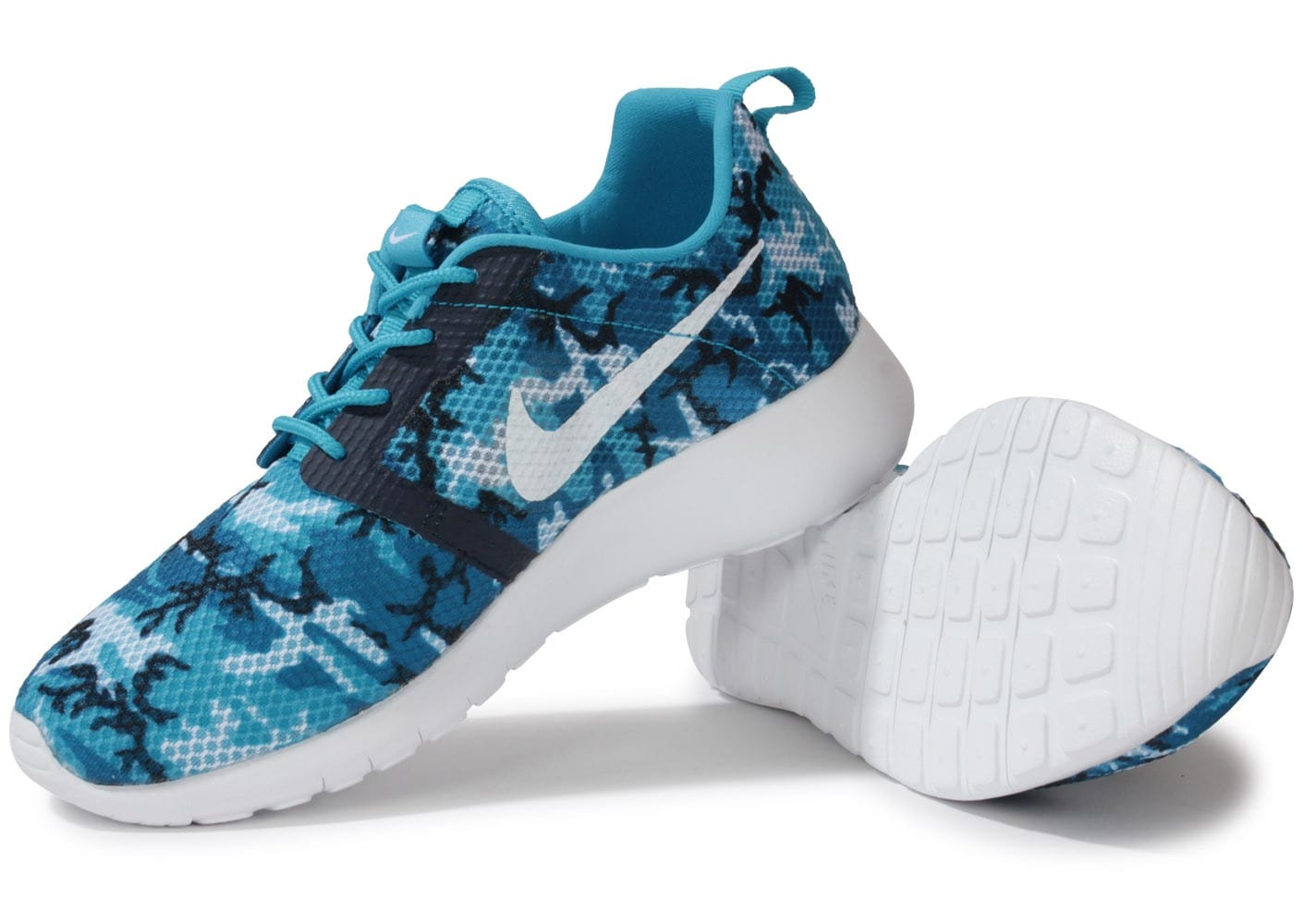 nike roshe run flight weight bleue chaussures chaussures. Black Bedroom Furniture Sets. Home Design Ideas