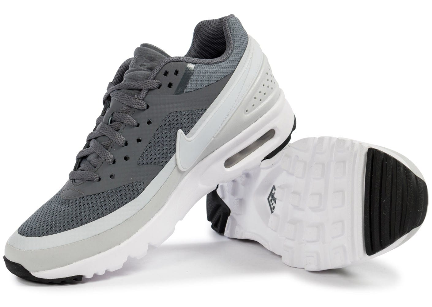 best sneakers 8c37f c80c5 ... Chaussures Nike Air Max BW Ultra W Cool Grey vue intérieure ...