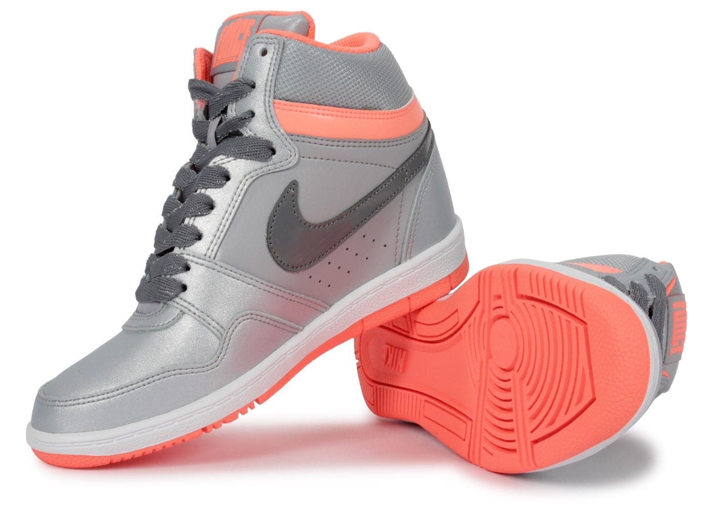 Nike Force Sky Compensée Grise - Chaussures Chaussures - Chausport 9ce04b20323d