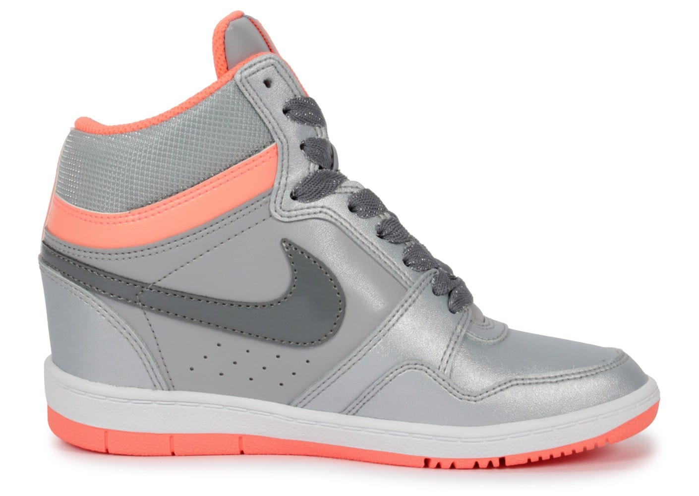 2a2f3a0db4b Nike Force Sky Compensée Grise - Chaussures Chaussures - Chausport