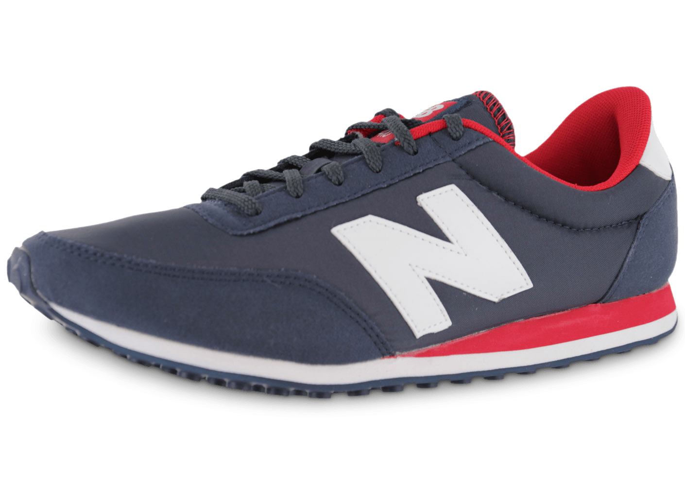 new balance u410 bleu marine chaussures baskets homme chausport. Black Bedroom Furniture Sets. Home Design Ideas
