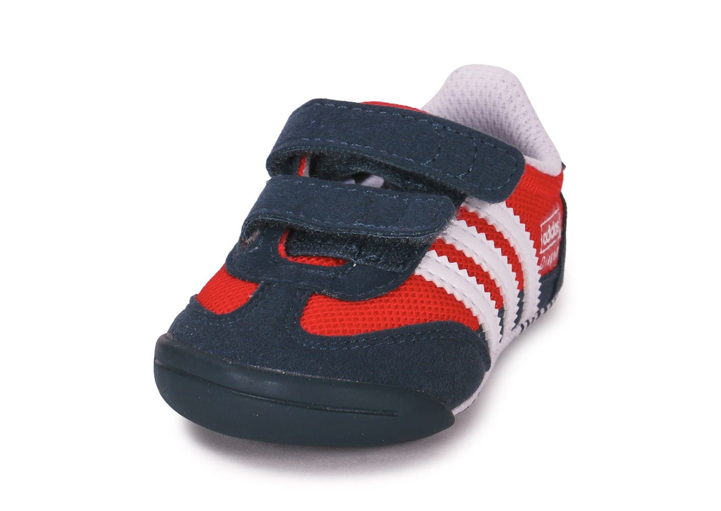 save up to 80% really cheap run shoes adidas Dragon Bébé Bleu Marine Et Rouge - Chaussures adidas ...