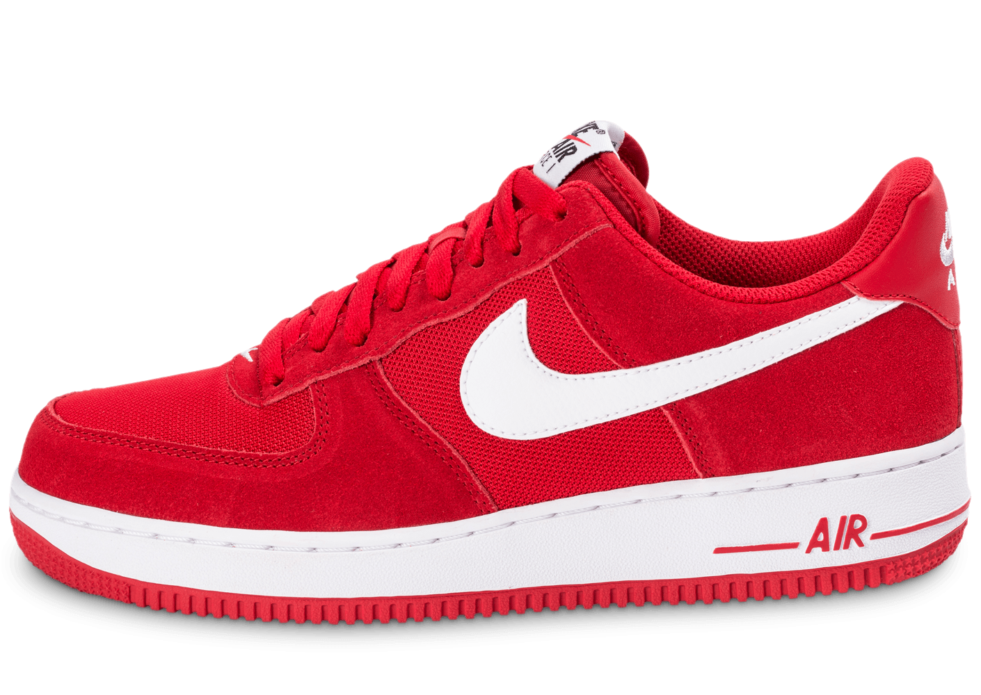Nike Air Force 1 Suede rouge
