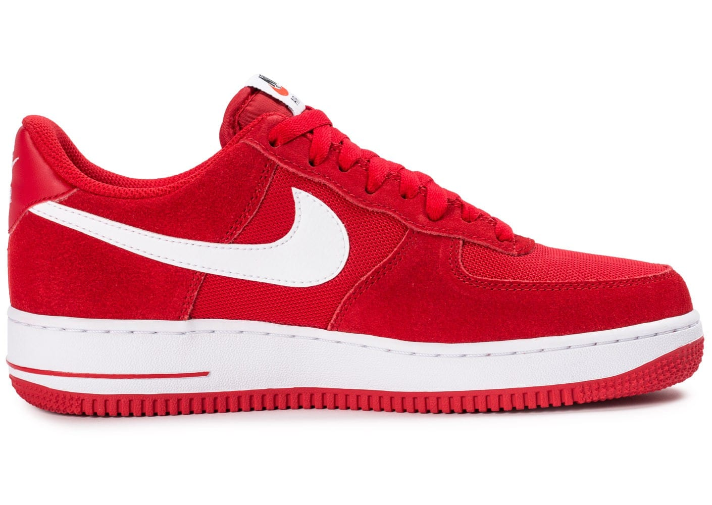 nike air force 1 07 suede rouge