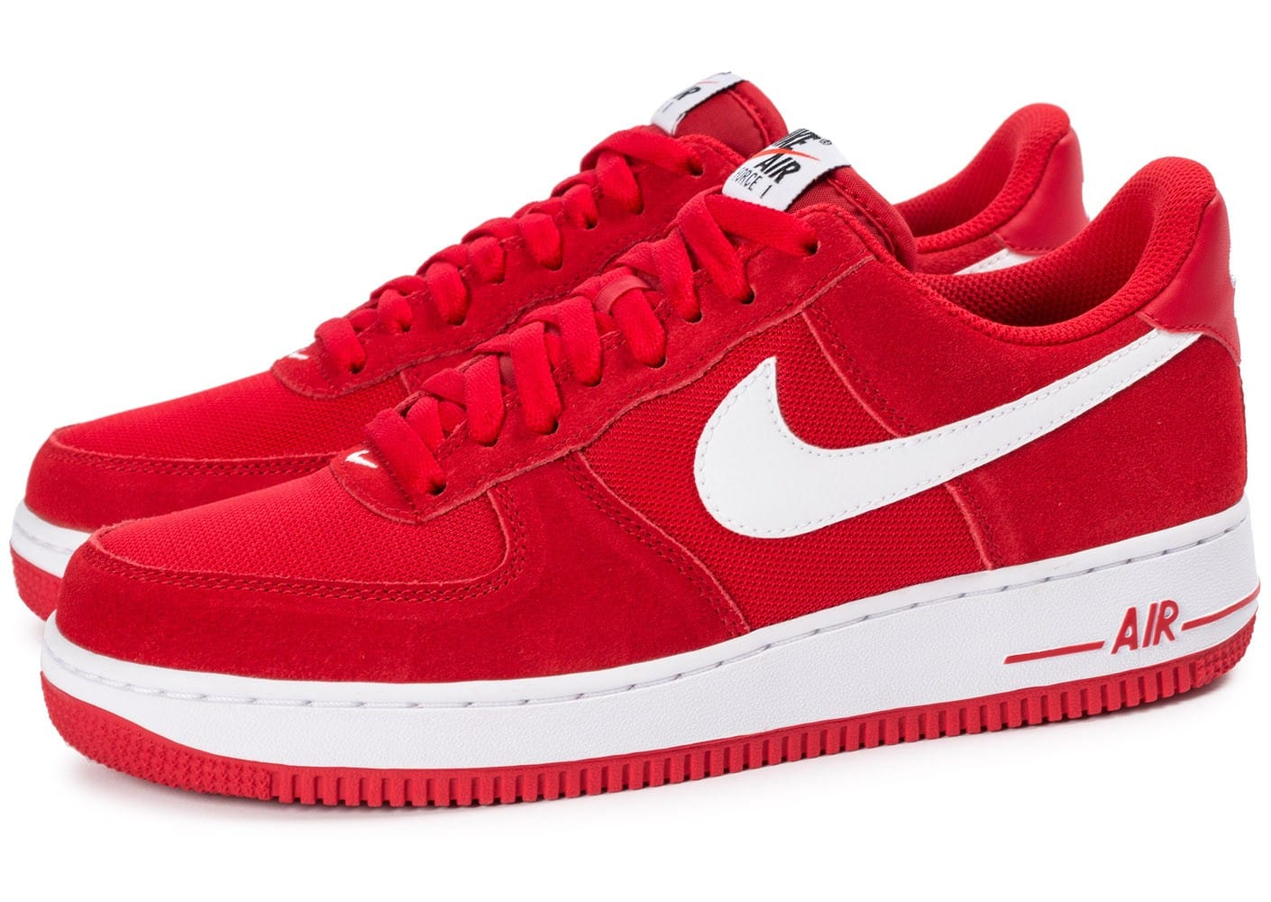 nike air force one rouge