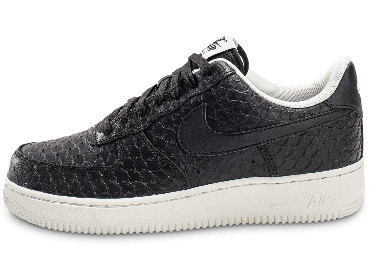 new product 62828 45793 Nike Air Force 1 07 LV8 Snake noire - Chaussures Baskets homme - Chausport