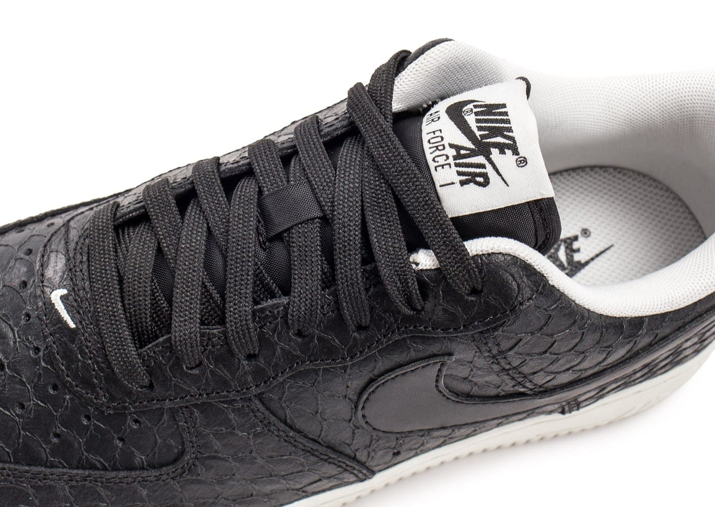 Nike Air Force 1 07 LV8 Snake noire Chaussures Baskets
