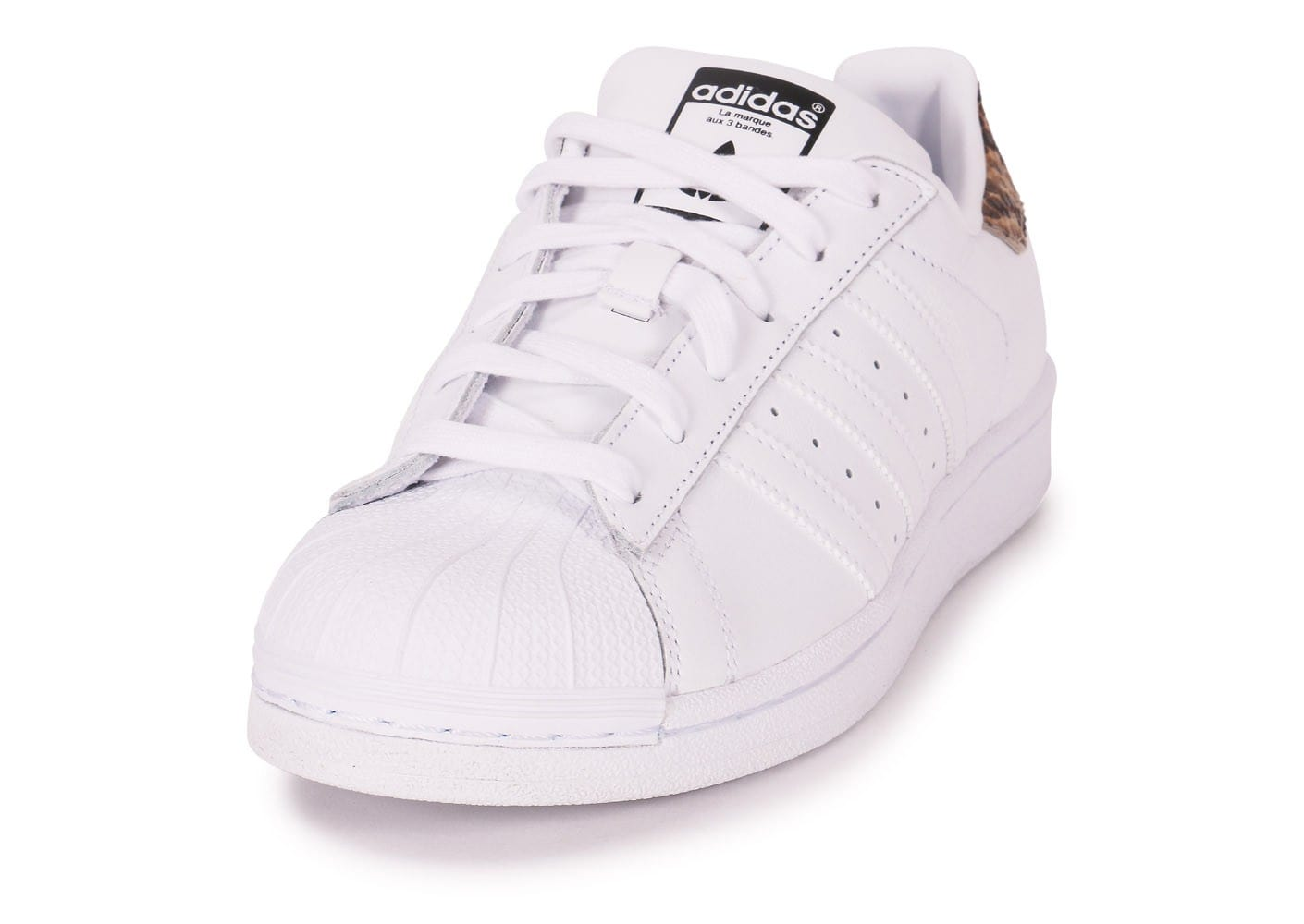 adidas Superstar Blanc Reptile Chaussures adidas Chausport