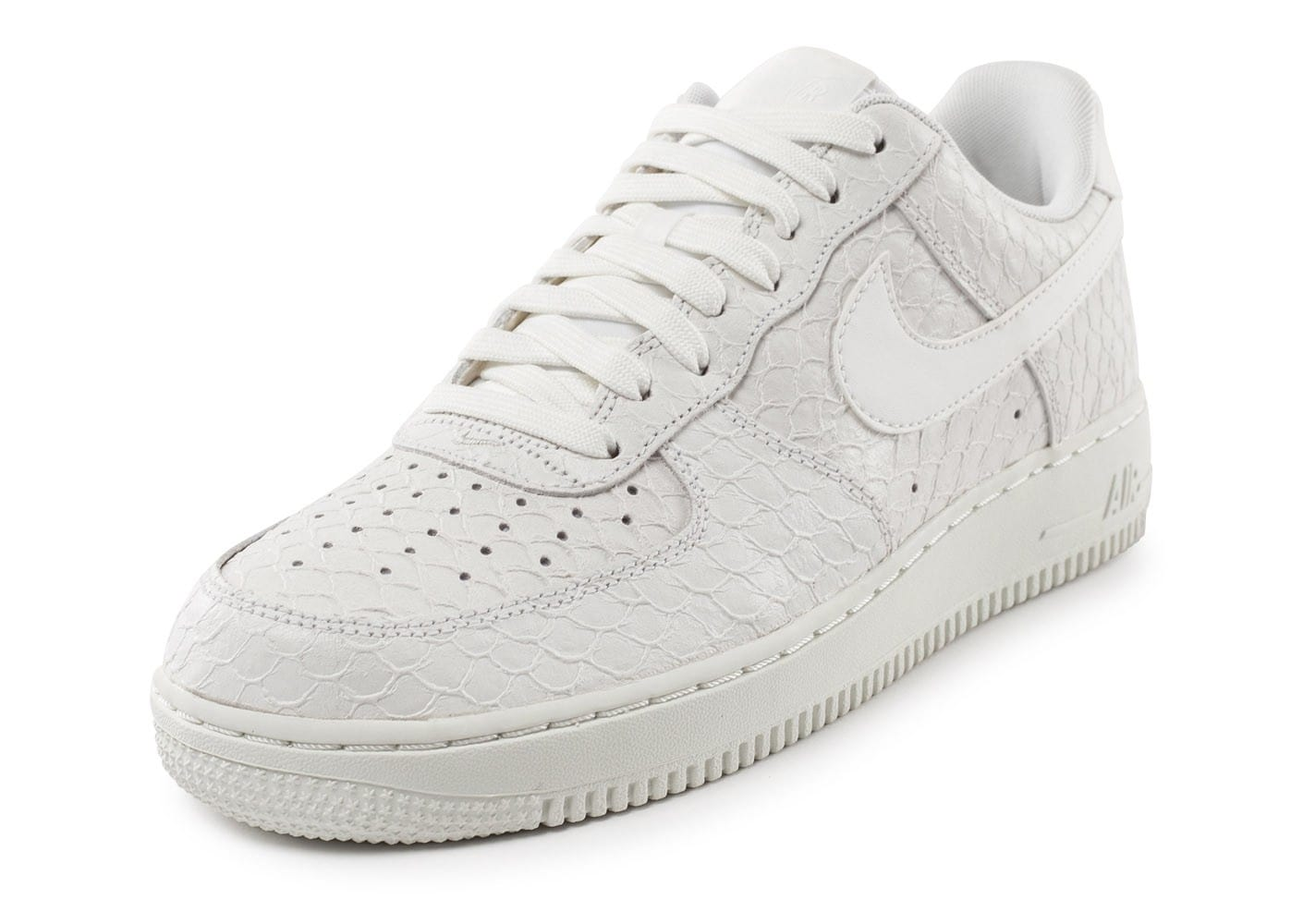 Nike Air Force 1 07 LV8 Snake blanche Chaussures Baskets
