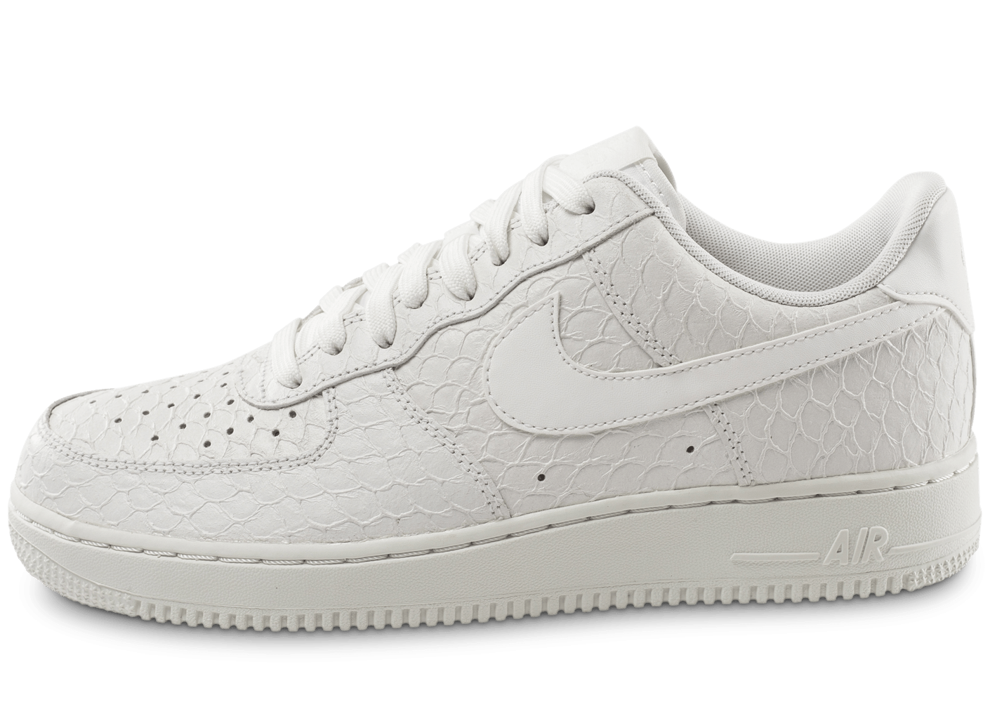 Nike Air Force 1 07 LV8 Snake blanche