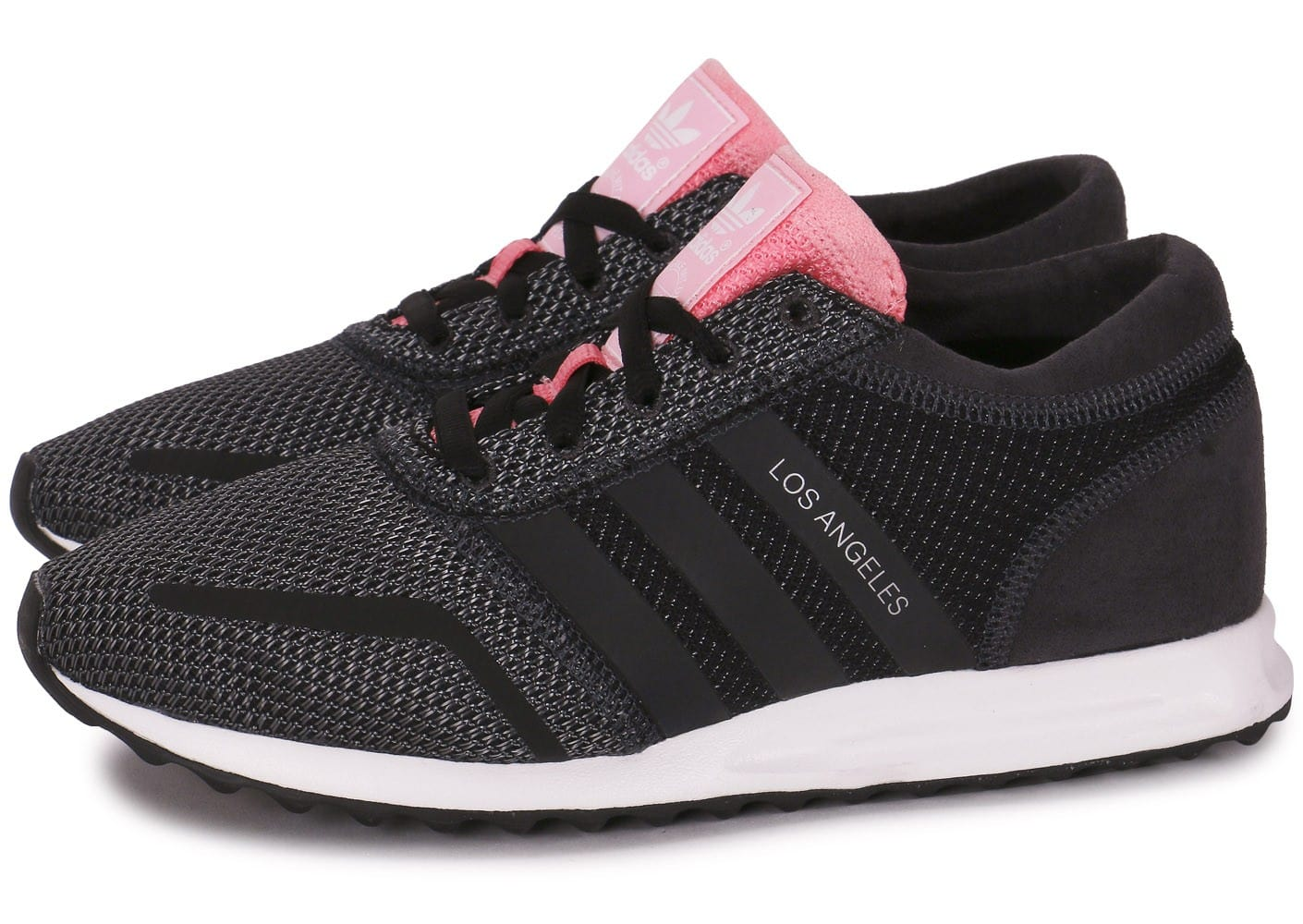 Chaussures Noire Los Adidas Rose Et Angeles Chausport EDH92I
