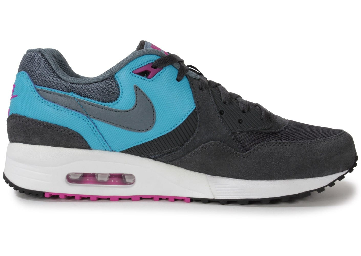 nike air max light grise et bleue chaussures baskets homme chausport. Black Bedroom Furniture Sets. Home Design Ideas