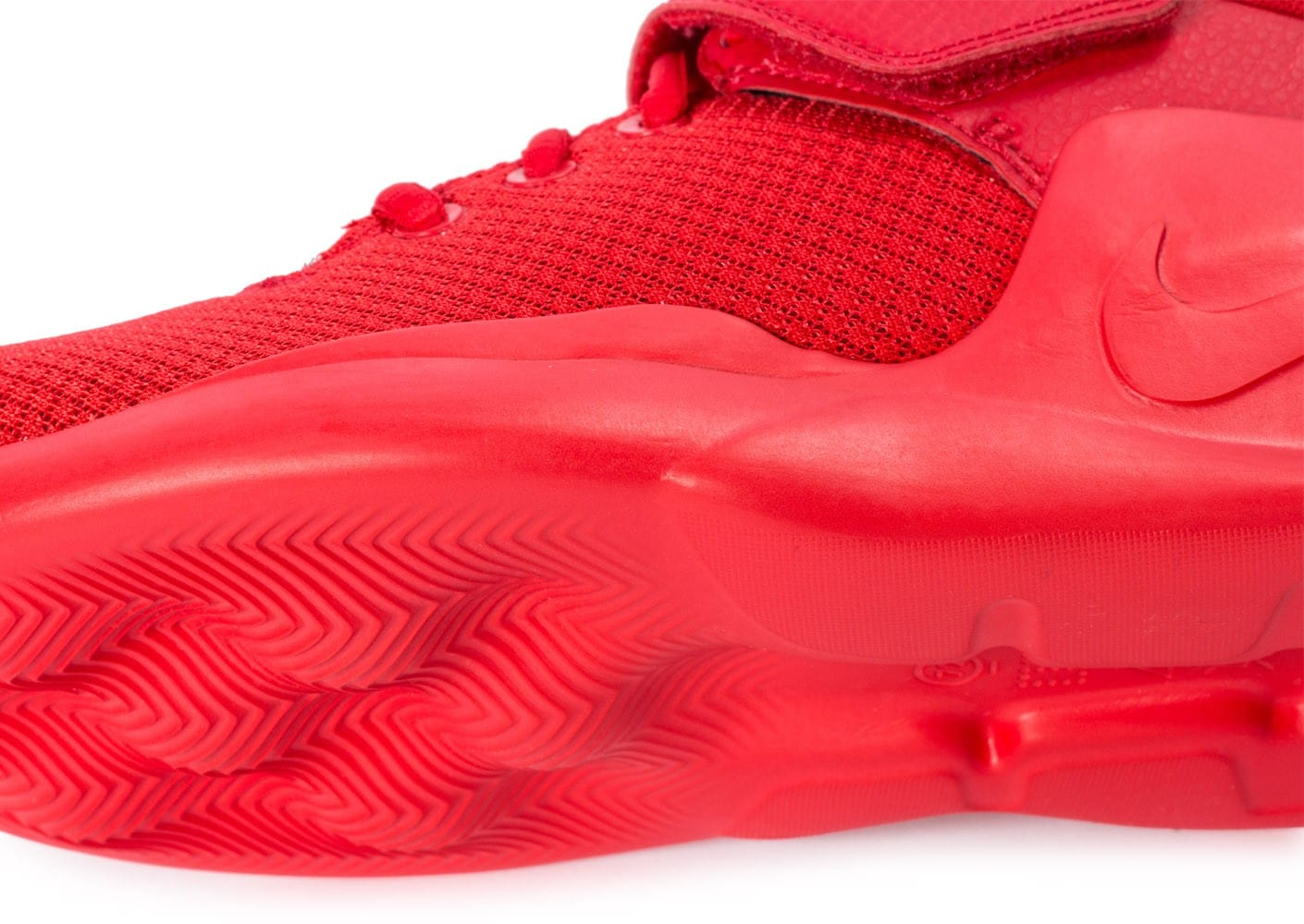 outlet store 68f82 f208f ... Chaussures Nike Kwazi Rouge vue dessus
