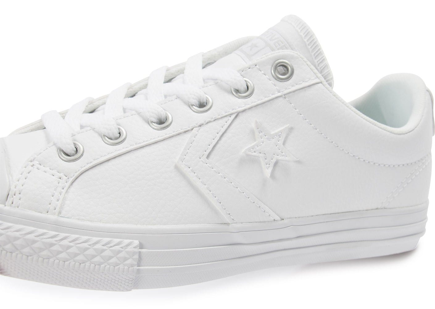Chaussures Converse Star Player blanches Fashion homme XvfyW5u