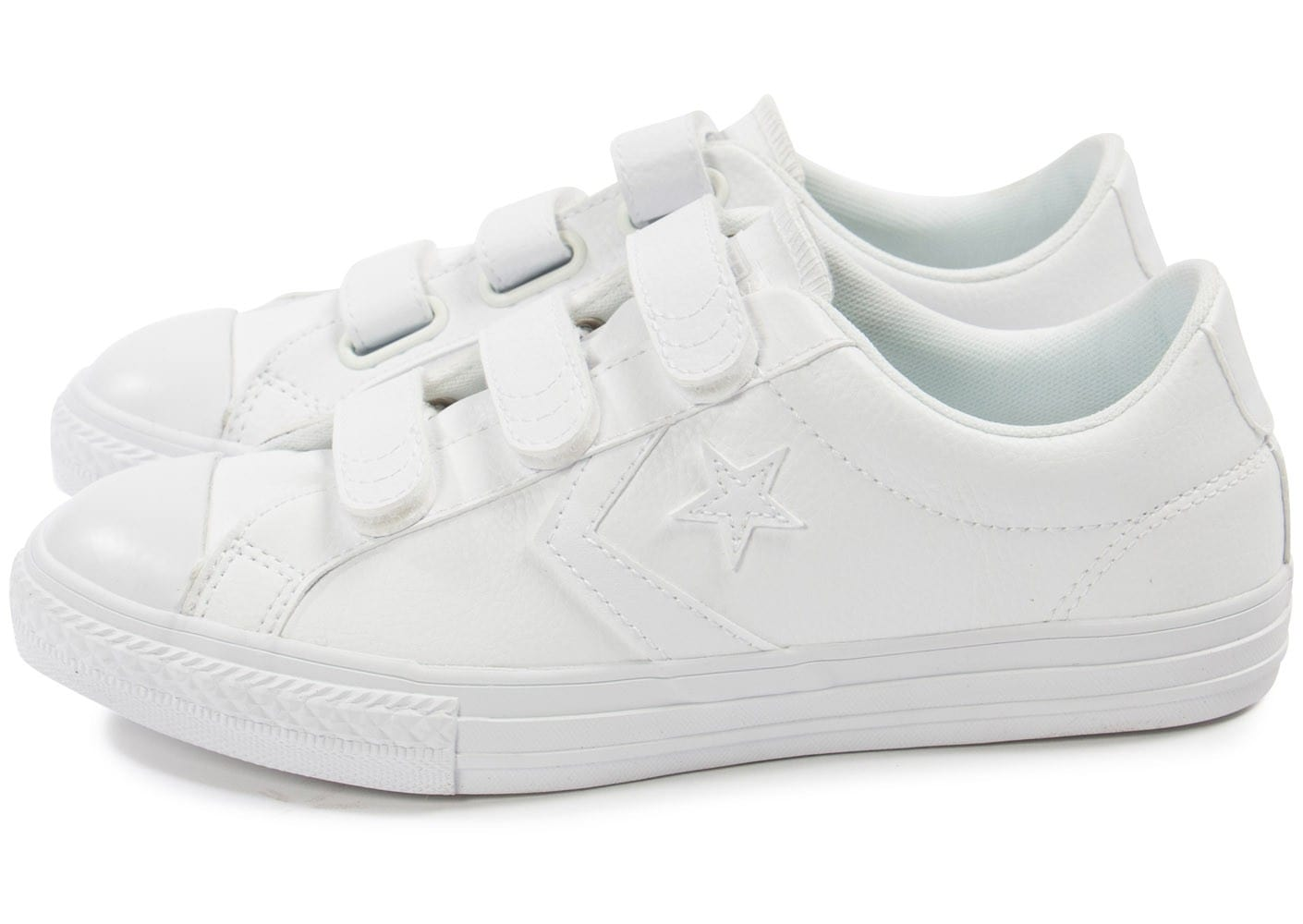 Chaussures Converse Star Player blanches Fashion femme Mt5tltHa