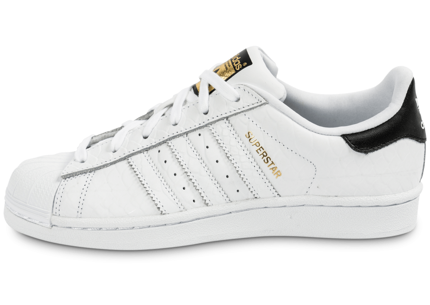 Chaussures Superstar Blanche Animal Junior Chausport Adidas odCxerB