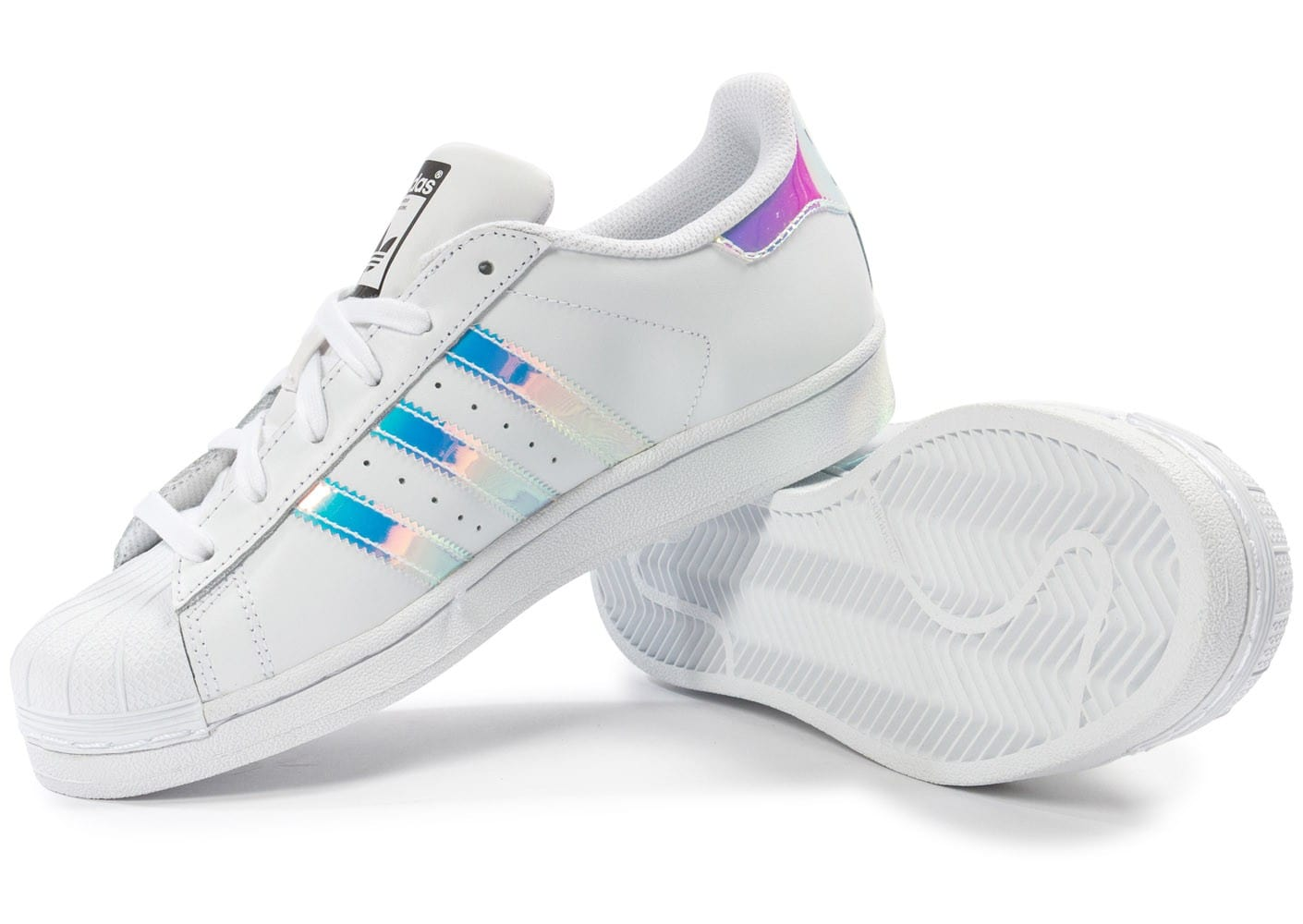chaussure adidas superstar holographique