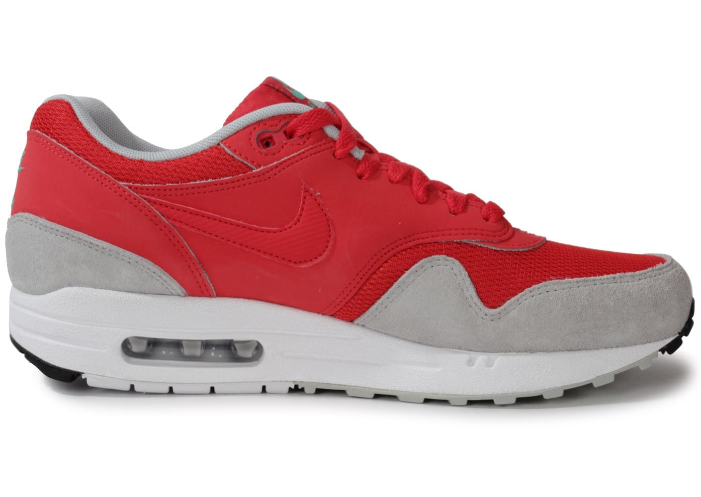 Nike Air Max 1 Essential Chausport Rouge Chaussures Baskets Homme Chausport Essential a07dc3