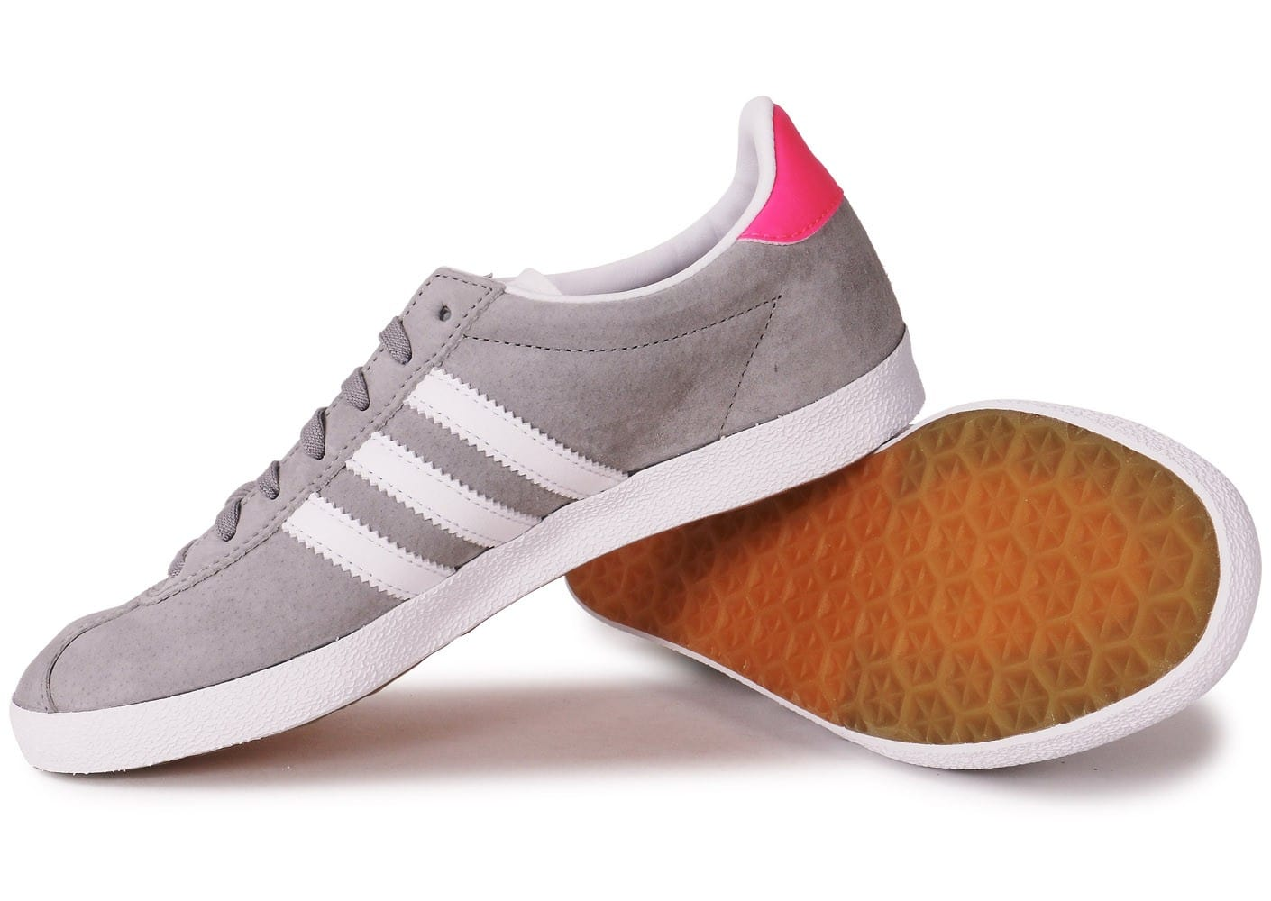 adidas Gazelle OG grise et rose Chaussures adidas Chausport