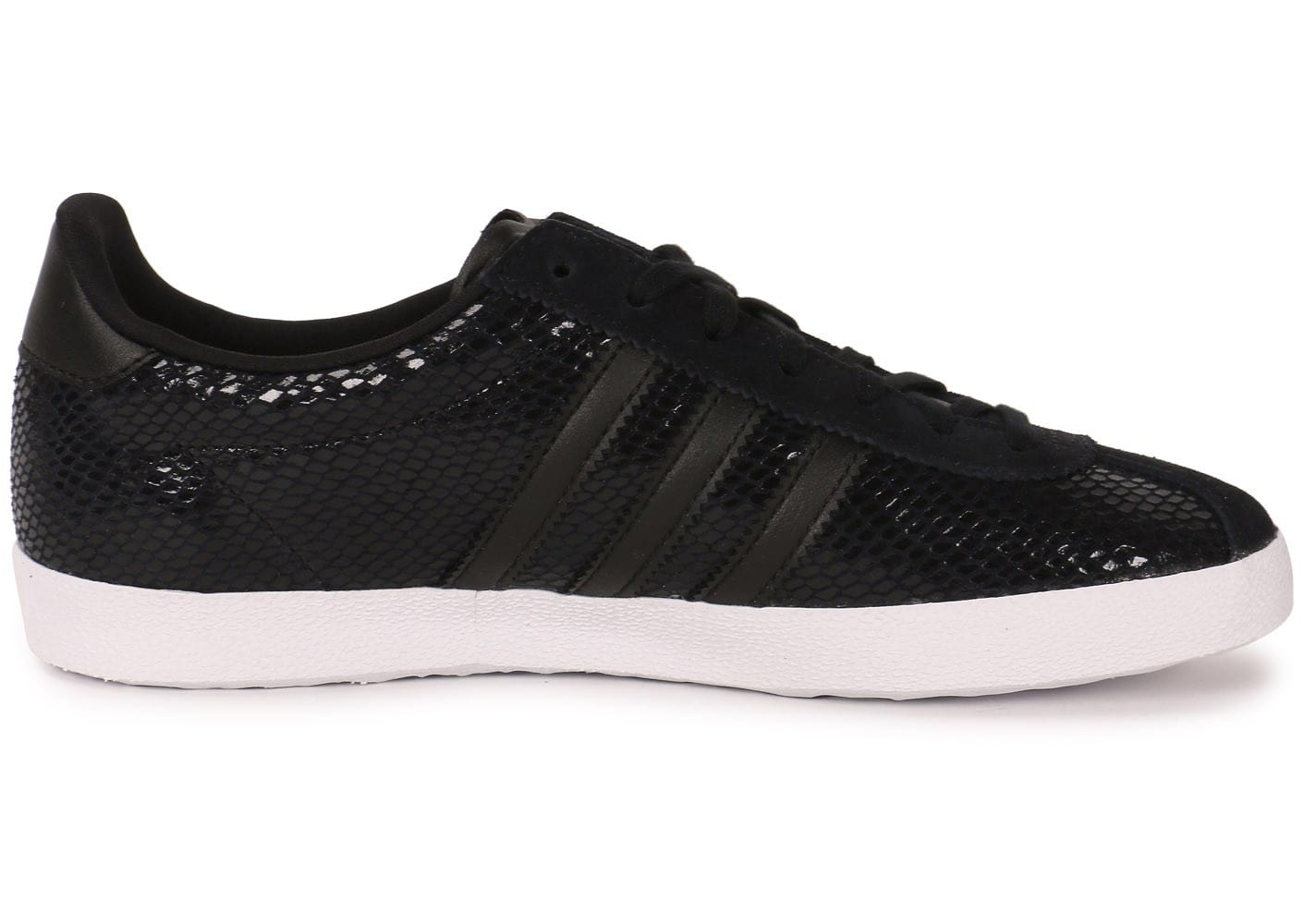 33babac2a5e adidas Gazelle OG Snake noire - Chaussures adidas - Chausport