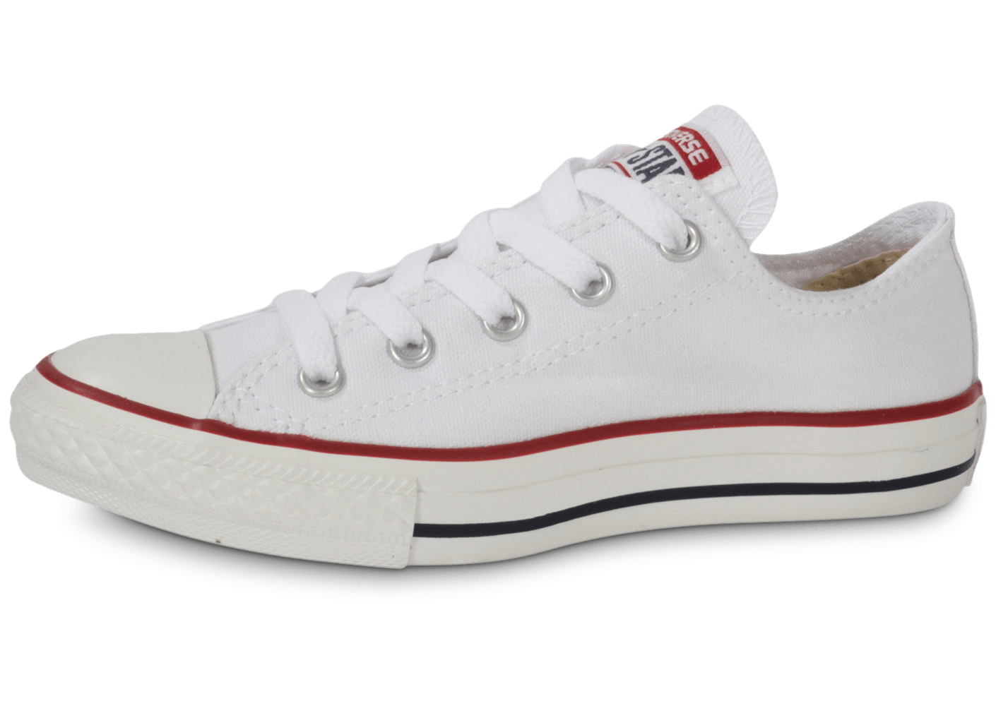 converse chuck taylor all star enfant basse blanche. Black Bedroom Furniture Sets. Home Design Ideas