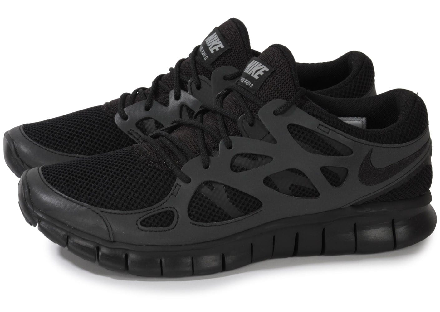 revendeur ca544 3efb5 Nike Free Run 2 Noire - Chaussures Baskets homme - Chausport